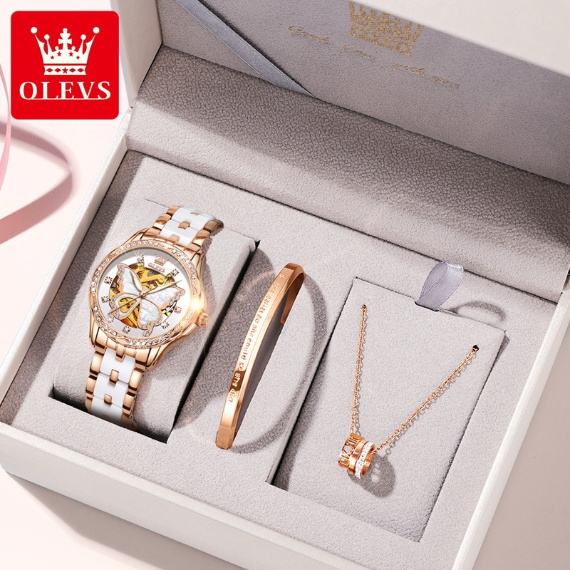 Watch Hot Selling Automatic Mechanical Watch Room Ceramic Ladies Watch Ladies Watch enlarge
