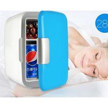 Mini réfrigérateur Portable de voiture 4L, refroidisseur et chauffage, pièces universelles pour véhicule