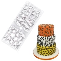 1pcs new plastic animal cutting die pattern cake mold cutting die cartoon fondant biscuit mold fondant mold cake decorating tool