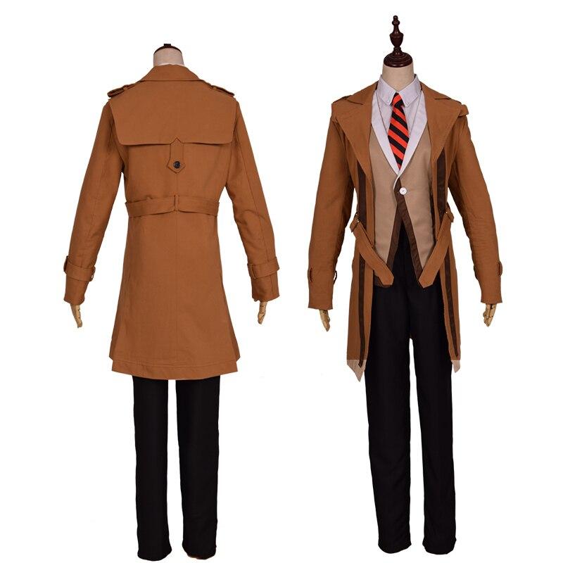Juego de anime de moda Arena de Valor Zhuge Liang disfraces de Halloween para hombre abrigo adulto pantalones y peluca ropa de hombre