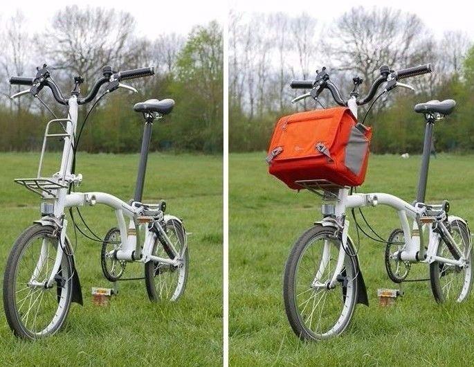 Супер легкая передняя стойка из титанового сплава для велосипеда Brompton около 240 г