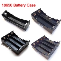 18650 power bank cases 1x 2x 3x 4x 18650 battery holder storage box case 1 2 3 4 slot batteries container hard pin