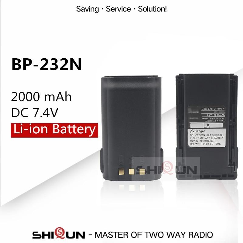 BP-232 BP-232N BP-232H Bateria Li-ion Compatível com IC-A14 A14 F14 F16 F24 F33GS F34G IC-F4021 IC-F4061 F4161DT/DS T/S F416