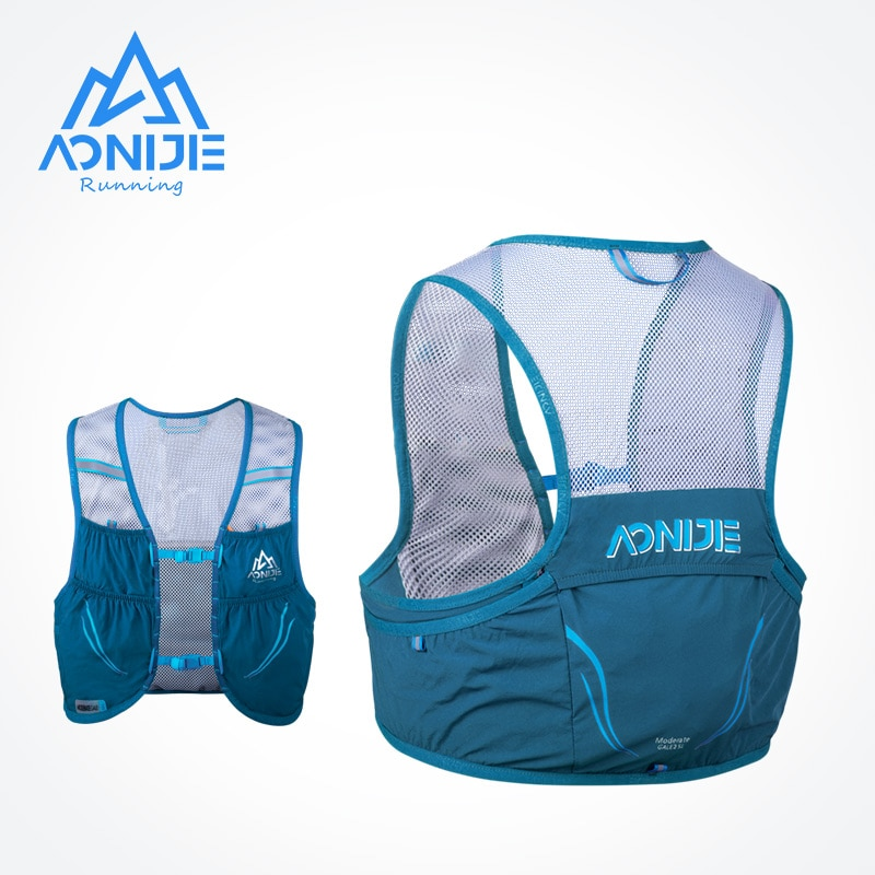 AONIJIE C932S 2.5L المجموعة المائية المحمولة تشغيل حقيبة ظهر حقيبة سترة تسخير للمشي التخييم سباق ماراثون تسلق