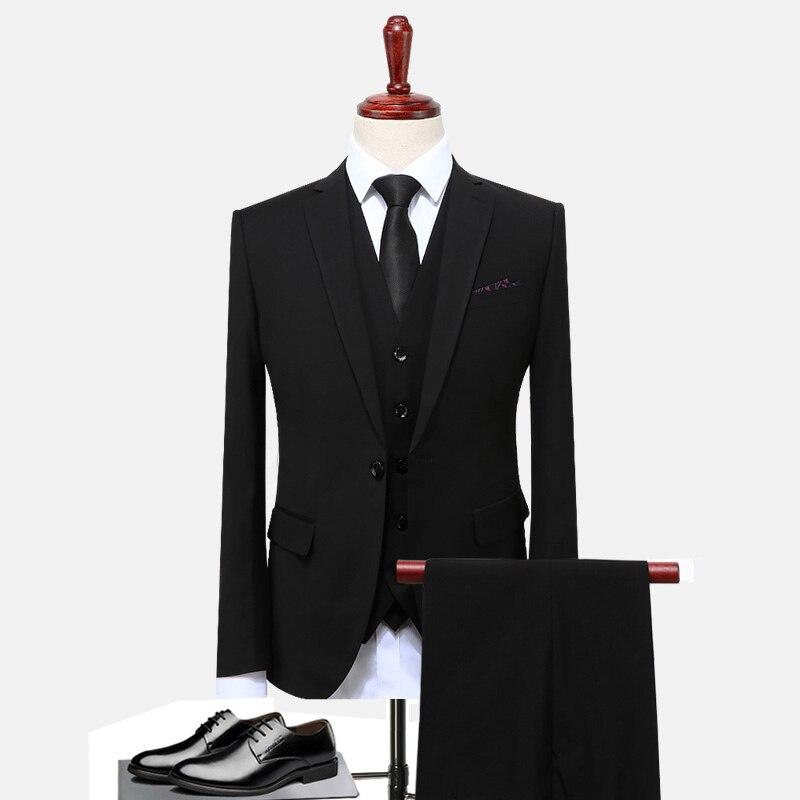 Traje informal de negocios para hombre, traje personalizado, traje de boda real...