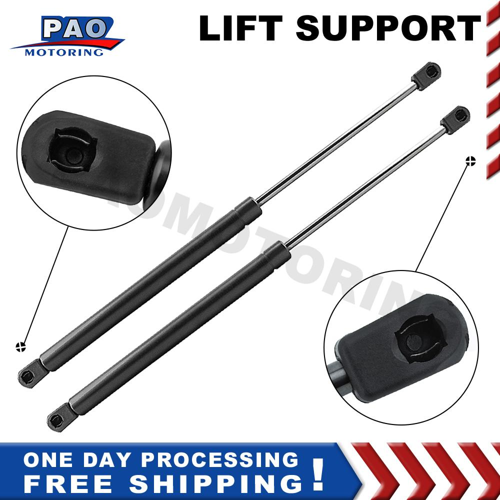 2 Pcs Front Hood Gas Springs Lift Supports Shocks Struts For 2001 2002 2003 Acura CL 1999 2000 TL