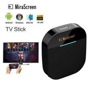 Mirascreen G5 Plus 2,4G 5G 4K беспроводной HDMI адаптер Miracast Airplay приемник для телевизора для chromcast youtube