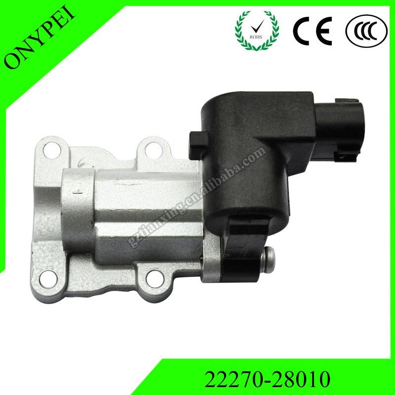 22270-28010 высокое качество холостого хода Клапан управления воздуха для Toyota Highlander 2,4 Rav4 2,0 2227028010