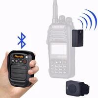 walkie talkie hand microphone bluetooth headset km plug horn handheld speaker wireless bt loudspeaker for baofeng 888s motorola