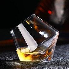 Verre à vin en cristal Transparent sans plomb   Résistant à la chaleur, gobelet en verre pour le whisky, la bière de Brandy, la Vodka verre à liqueur