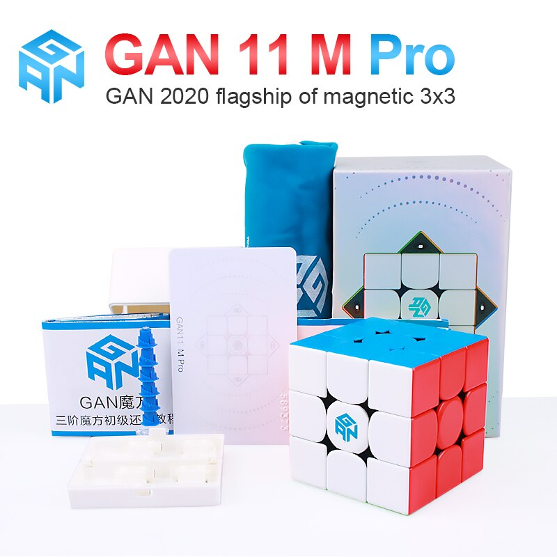 aosu gts m 4 4 4 magnetic magic cubes puzzle speed cube educational toys gifts for kids children GAN 11 M Pro 3x3x3 Magnetic Magic Speed GANS Cube Professional Magnets Puzzle Cubes GAN11M Toys For Children Kids GAN11 M Pro
