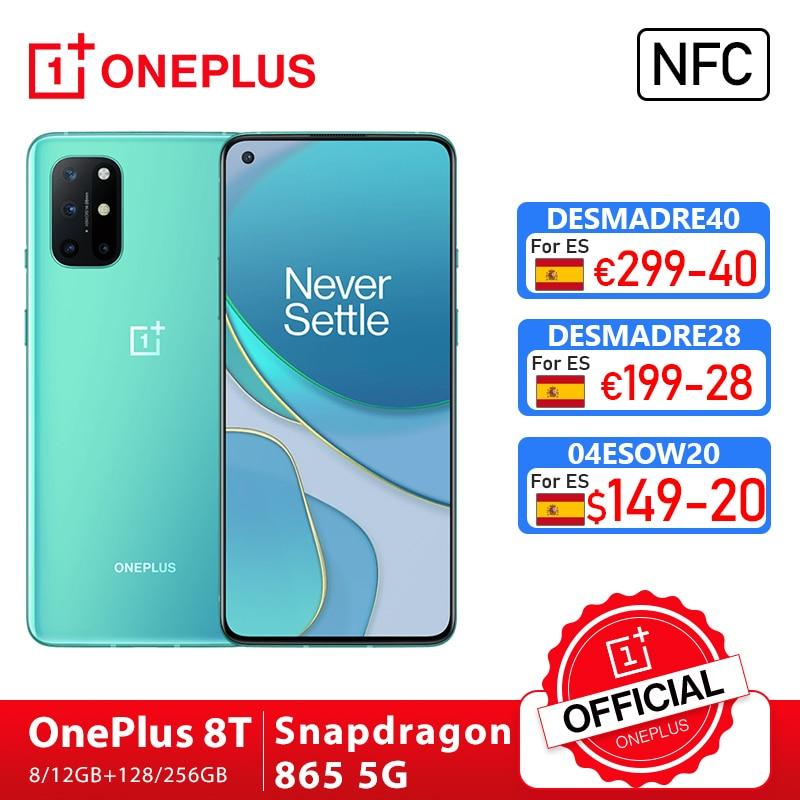Глобальная прошивка OnePlus 8T, 8 T, OnePlus Official Store 8 Гб 128 Snapdragon 865 5G сма