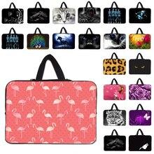 Neoprene Handbag Carry Case For Macbook Acer Huawei Matebook Shockproof Laptop Notebook 10 12 13 14 15 17 Inch Bag Pouch Bolsas