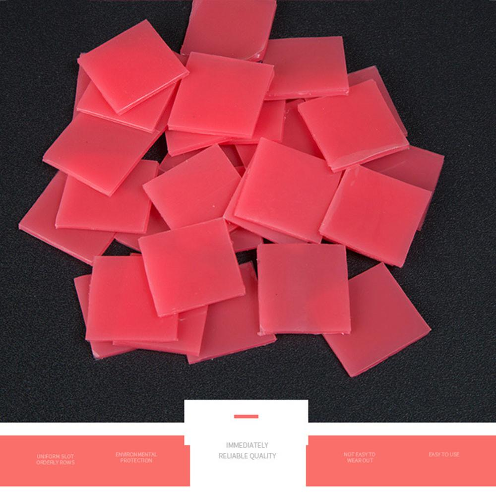 50 unids/lote accesorio de pintura diamante pegamento bordado de diamantes 2*2CM pegamento punteado daimond pintura cera barro