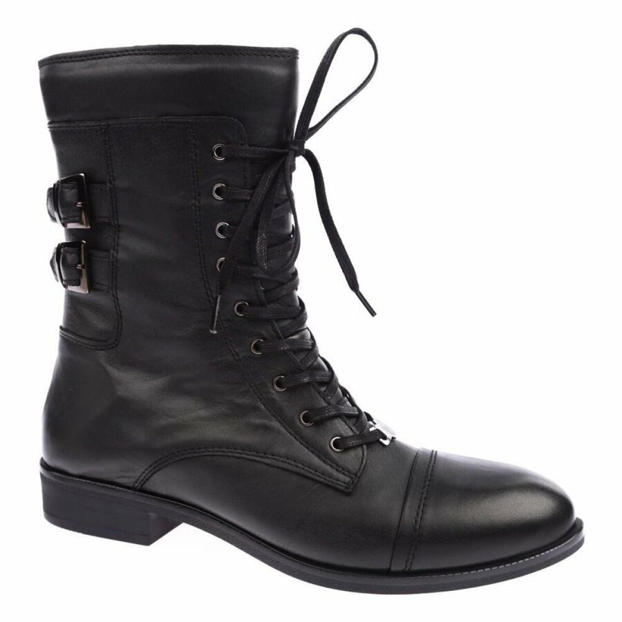 Women Boots Mammamia Mammamıa 1495 Genuıne Leather Casual Women'S Postal Boots Женские са