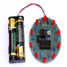 4017 water lamp kit NE555 production parts LED marquee DIY electronic training accessories fun