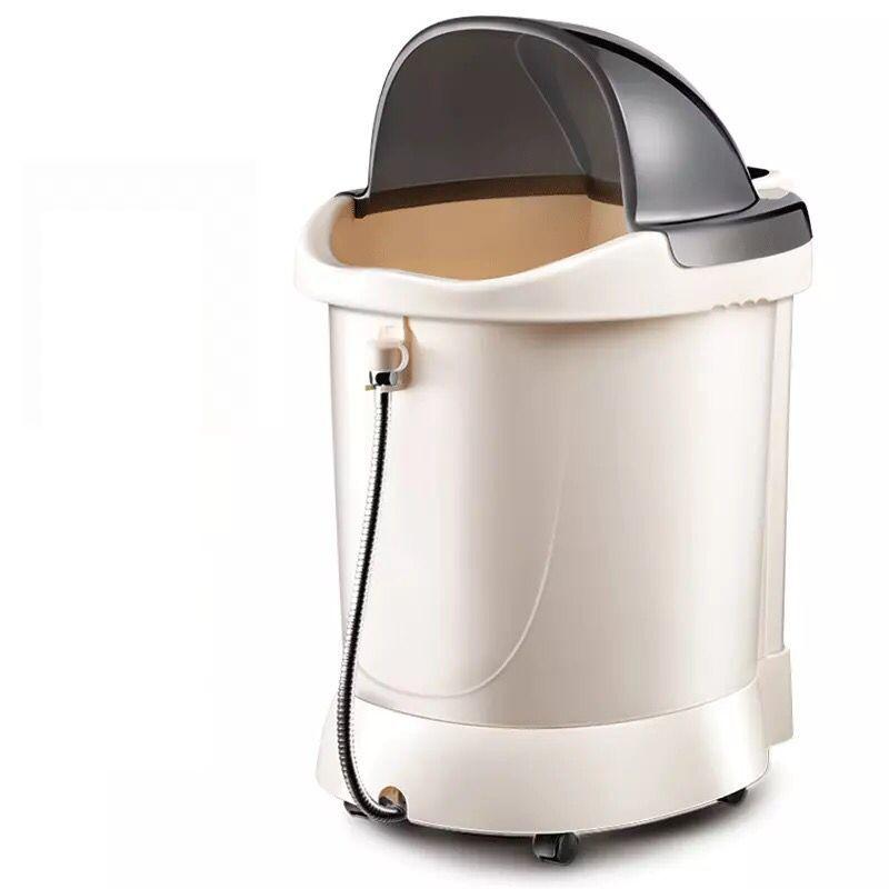 Burbuja barriles de pie Xin Wu párrafo con barriles profundos termostato calefacción lavado hogar bañera de pies A la pantorrilla