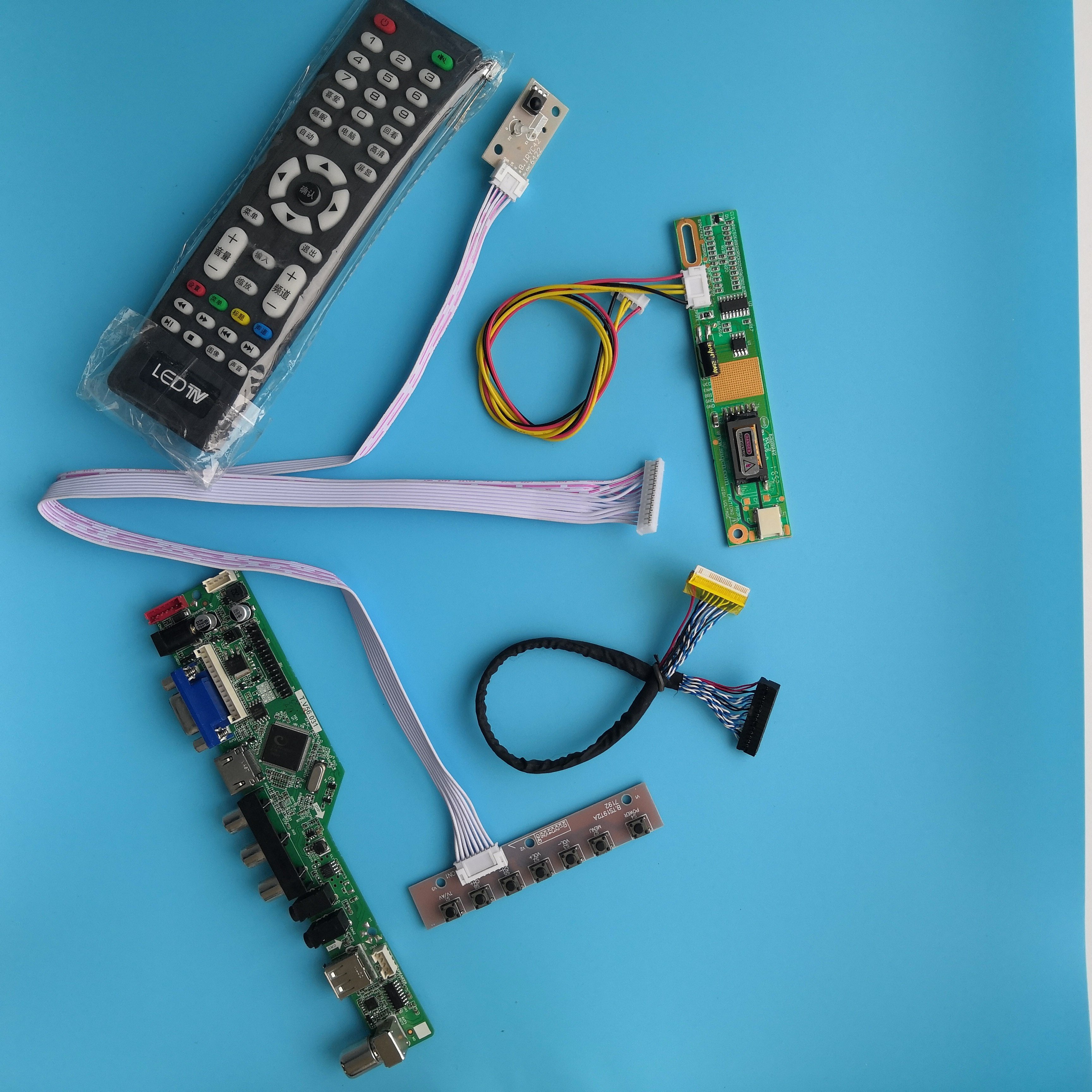 ل LP154WX5-TLA1 VGA AV القرار التلفزيون تحكم مجلس واجهة وحدة 1 مصابيح 15.4