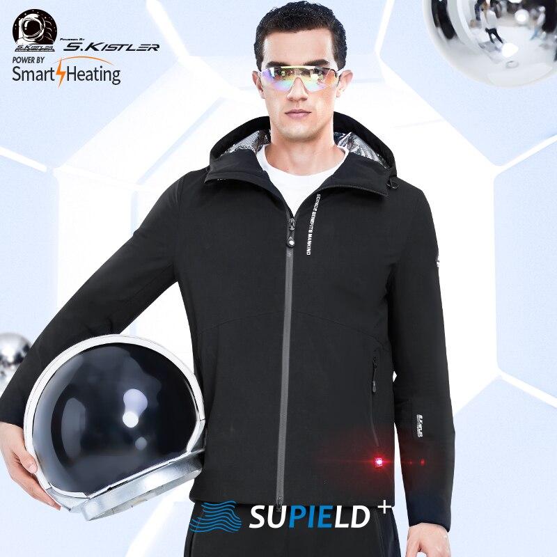 SUPIELD MEN'S Aerogel Lightweight JACKET USB Charging Heated Jacket Winter Warm Coat