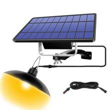 Auto On Off grange Gazebo Led lampe de hangar durgence lampes suspendues solaires suspendus en plein air intérieur salle de stockage balcon câble dextension