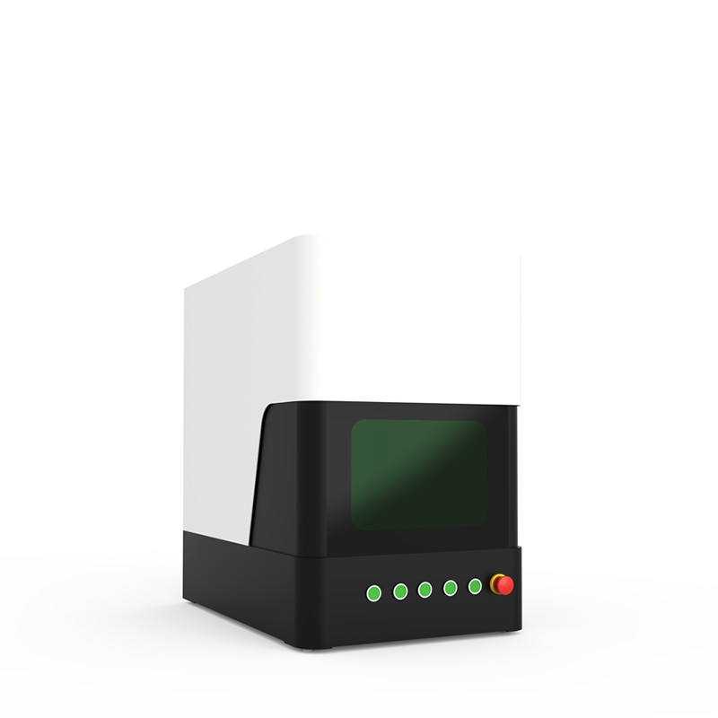 20 واط الألياف الهاتف الليزر آلة وسم للمعادن