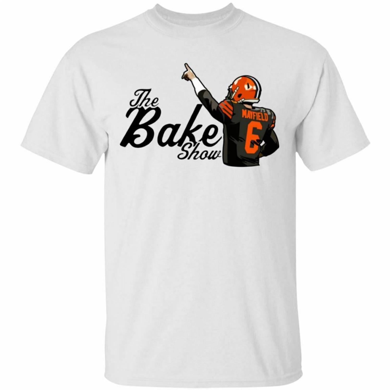 Camiseta divertida de manga corta para hombre de Baker Mayfield Show, camiseta de manga corta