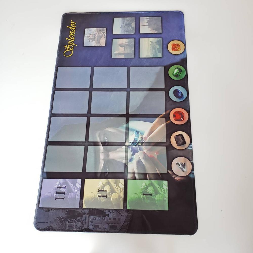 High Quality Rubber Playmat for Splendor board Game Customize Splendor Game Playmat  kids toy