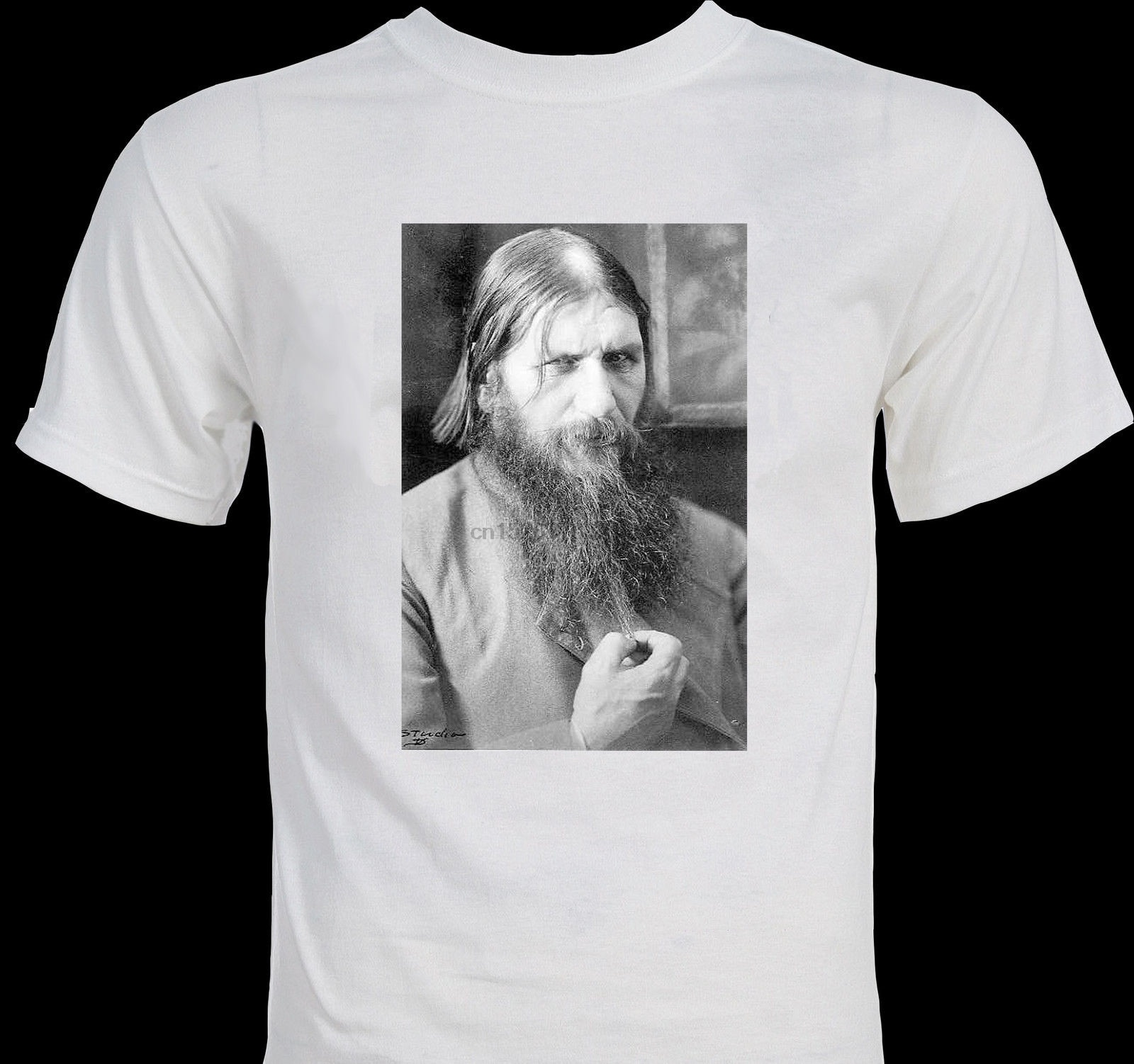 Ropa de marca para hombres, diseño impreso a la moda, Rasputín ocultismo místico, músculo eslavo, camisetas para hombres