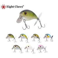 eight claws 50mm 13 2g mini crankbait fishing lure sinking wobblers crank bait artificial minnow hard swimbait with propeller