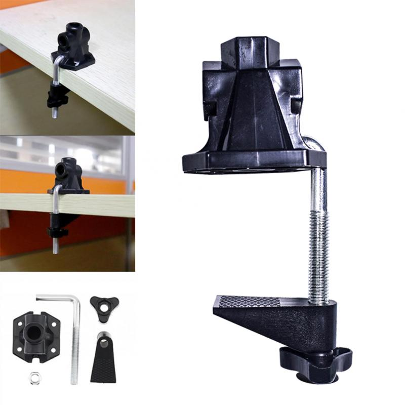 DIY Audio lámpara de escritorio con Clip soporte fijo Universal abrazadera tipo tornillo porta accesorios práctico Flash de cámara para micrófono soporte de Metal