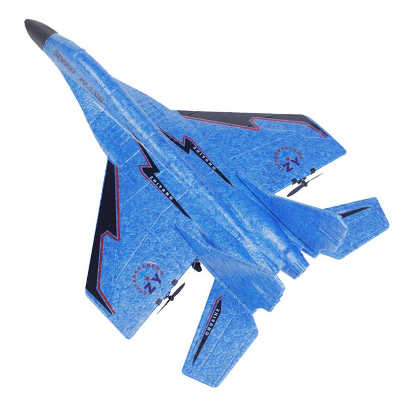RC Airplane MIG-530 Cool RC Fight Fixed Wing RC Airplane MIG-530 2.4G Remote Control Aircraft RC Plane Christmas Gift,Blue enlarge