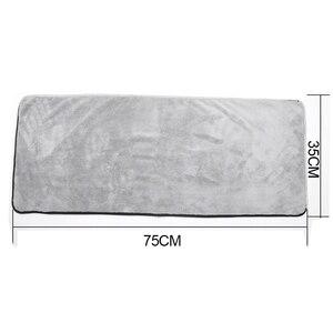 Image 2 - Полотенце из микрофибры, тряпочка для мытья автомобиля, уход за дверью и окном, плотная, сильное впитывание воды, аксессуары для автомобиля, дома и автомобиля