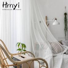 Moderne Blanc Tulle Rideaux pour le Salon De Luxe Rideaux Voilage Rideaux de Fenêtre pour la Chambre À Coucher Rideaux Rideaux Voilage