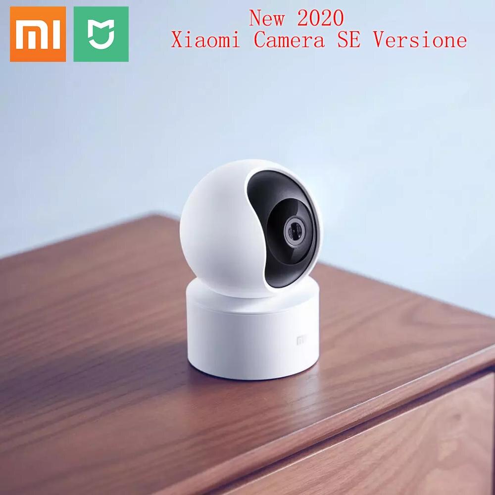 Oryginalny Xiaomi Mijia inteligentna kamera IP HD 1080P 2.4G Wifi bezprzewodowy 360 szeroki kąt 10m noktowizor inteligentne bezpieczeństwo mihome