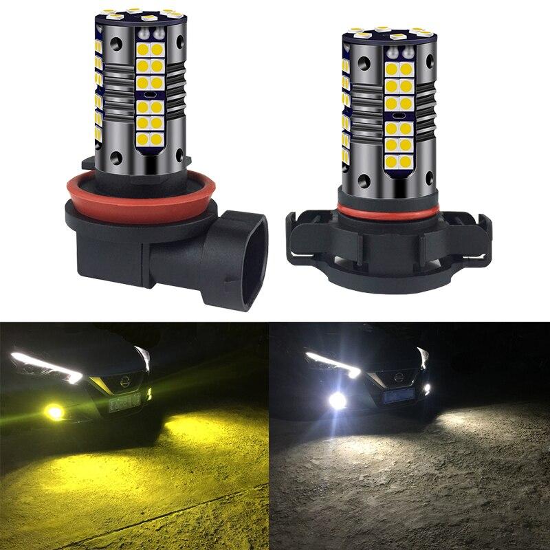 2x Auto LED Luz de niebla Canbus coche bombilla lámpara H8 H11 H16 9006 HB4 HB3 H10 9005 para chevrolet cruze captiva aveo lacetti niva camaro