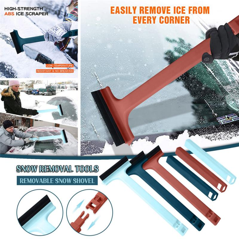 Snow Scraper Adjustable Snow Shovel Telescopic Wiper Blade Glass Cleaning Tools Window Cleaning Tool