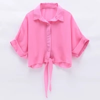 cheap wholesale 2021 spring summer autumn new fashion casual ladies work women blouse woman overshirt female ol py1437