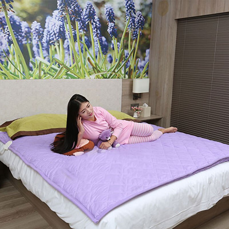 Smart Single Electric Blanket Bed Bed Warmer Heater Heating Blanket Home Mantas Electricas Calentadoras Sauna Blanket DJ60ET enlarge