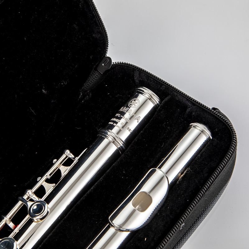Top Japan Flute 271 382 Professional Cupronickel C Key 16 Hole Flute Silver Plated Musical Instruments With Case and Accessories enlarge