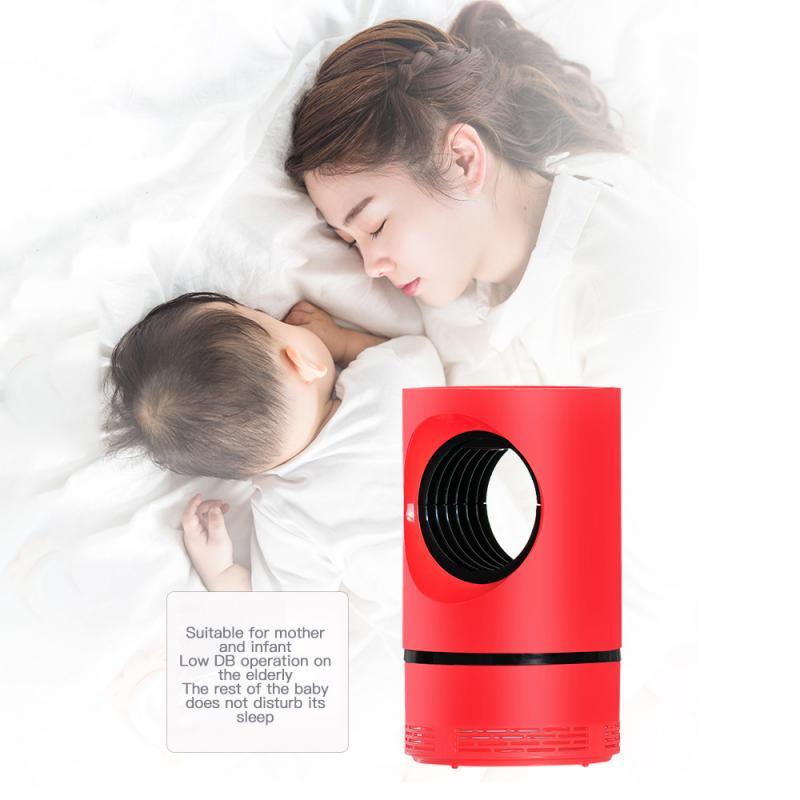 Lámpara USB para matar mosquitos, dispositivo eléctrico para matar moscas e insectos,...