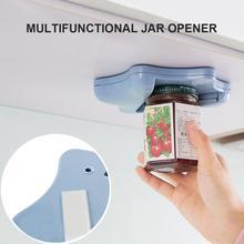 Ouvre-boîte créatif ouvre-boîte sous larmoire auto-adhésif pot décapsuleur haut couvercle décapant aide les mains fatiguées ou humides aléatoire