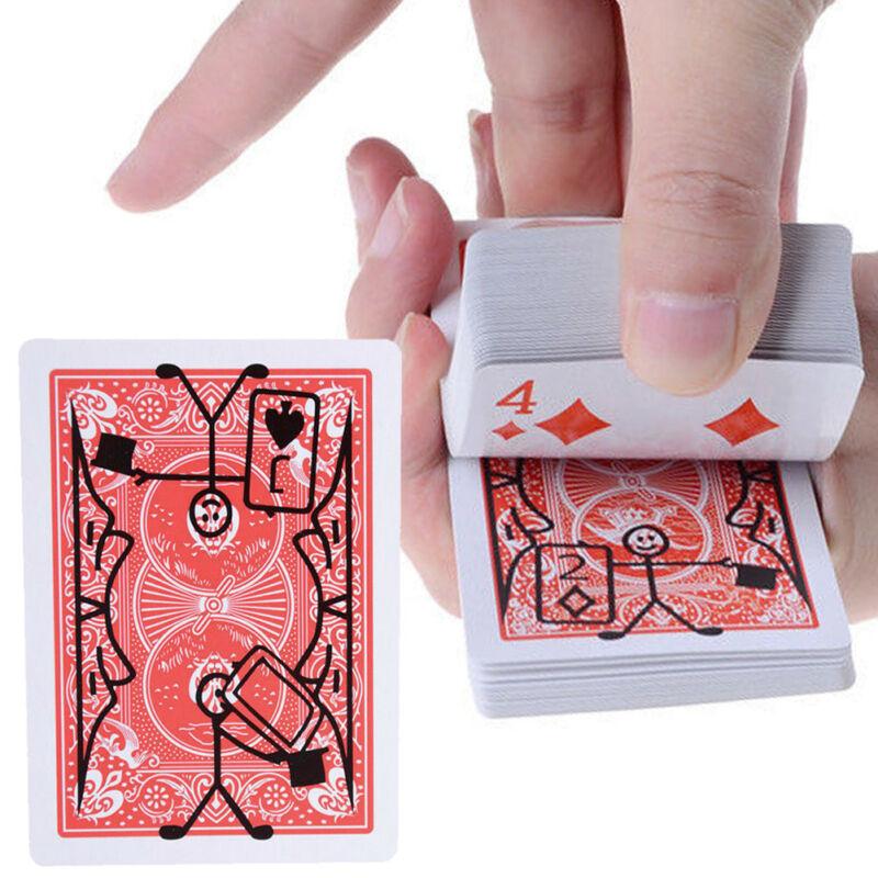 New Magic Prop Cartoon Cardtoon Deck Pack Playing Card Toon Animation Prediction Funny Magic Magic Tricks Gimmick