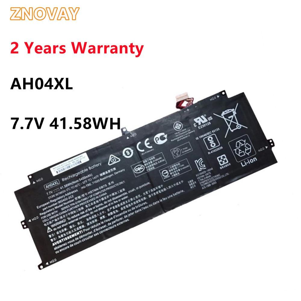ZNOVAY AH04XL Battery For HP Laptop TPN-Q184 HSTNN-DB7S 902402-2C2 902500-855 7.7V 41.58Wh/5140mAh