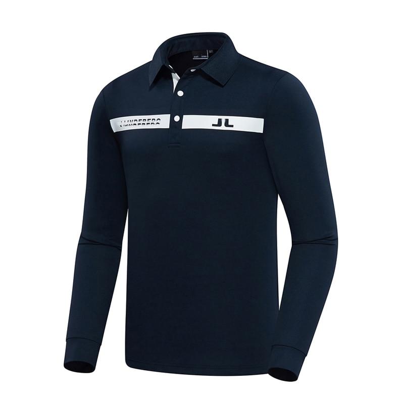 ربيع الخريف جديد الرجال طويلة الأكمام جولف تي شيرت 3 ألوان JL جولف الملابس S-XXL في الاختيار الترفيه تيشرت رياضي