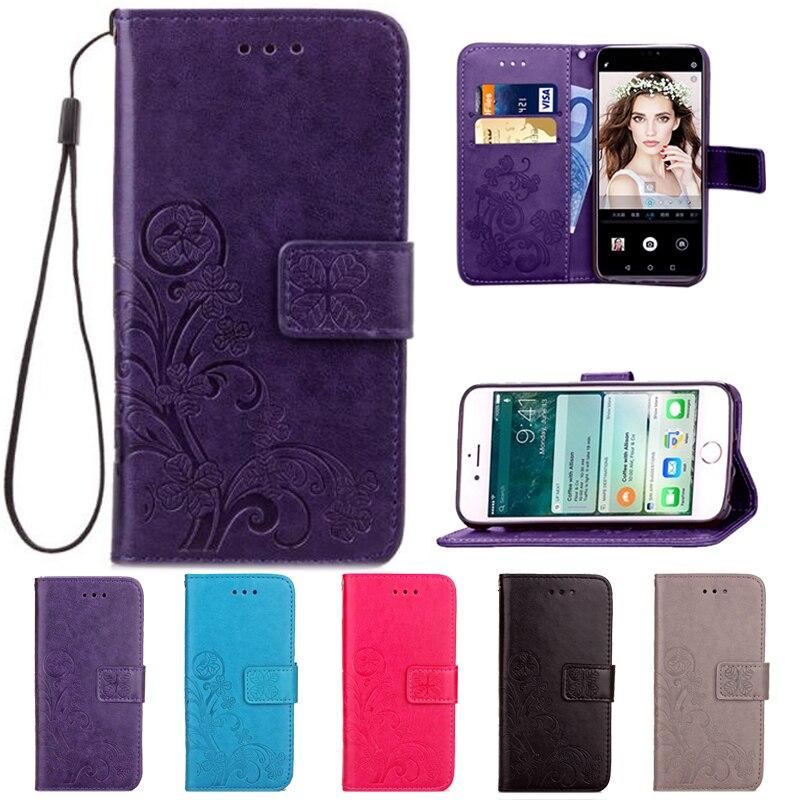 Flip flor teléfono casos para Nokia Lumia C1 220 4G 929G 930...