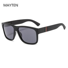 BRAND Designer 2021 NEW Classic Polarized Sunglasses Men Women Driving Square Sun Glasses Male Goggl