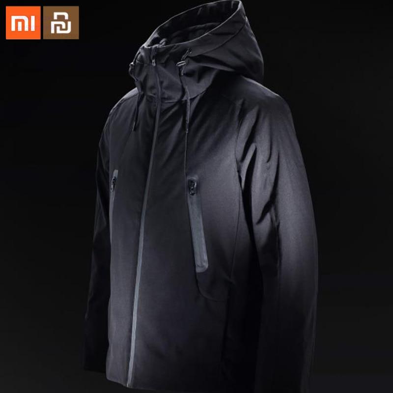 Xiaomi-سترة تحكم في درجة الحرارة 90 نقطة ، أصلية ، 90% ، أوزة أسفل ، تحكم ذكي في درجة الحرارة ، متوفر