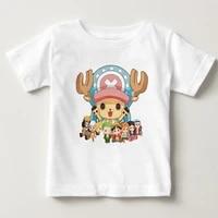 one piece luffy t shirt kids 100 cotton short sleeve round neck tshirt childrens tee shirt 2020 baby t shirt for boy girl nn