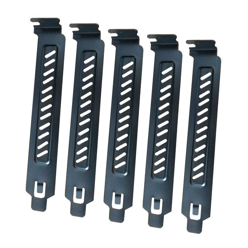 Cubierta de ranura PCI, 5 uds., cubierta de ranura PCI, cubierta de filtro de polvo, placa de marcado, ventilador de refrigeración, filtro de polvo, ventilación, caja de ordenador