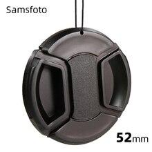 52mm 스냅 온 렌즈 캡 AF-S 18-55mm 렌즈 키트 D3200 D3100 D3000 D3300 D5100 D5200 D5300 D5500